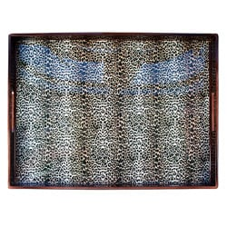 Notions by Jay Leopard Skin Rectangular Tray