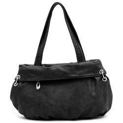 Dasein Studded Shoudler Bag With Chain Trim
