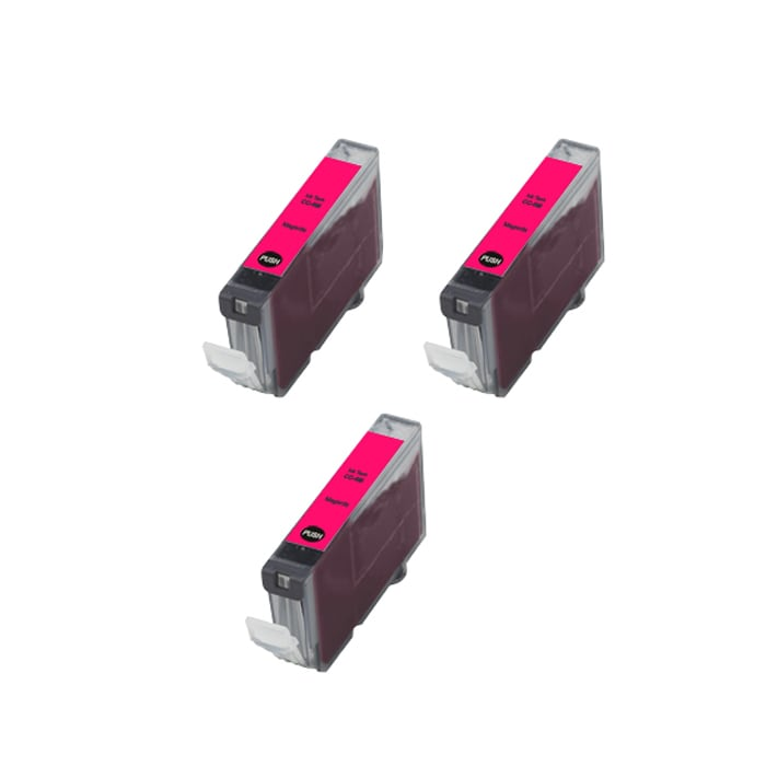 Canon CLI8-M Compatible Magenta Ink Cartridge (Pack of 3)