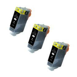 Canon PGI-220 Compatible Black Ink Cartridge (Pack of 3)