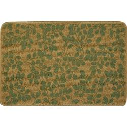 Printed Sisal Green Mat (2' x 3')