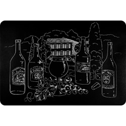 Wine Premium Kitchen Comfort Mat (2' x 3')