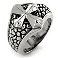 West Coast Jewelry Stainless Steel Medieval Cross Ring