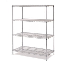 Olympic Four-Shelf Steel Starter Unit