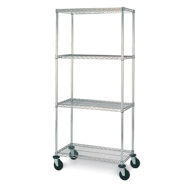 Olympic 4 Shelf Mobile Unit