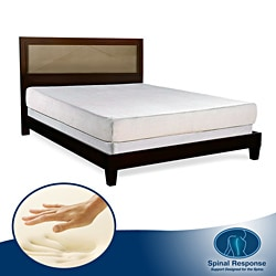 Spinal Response Marvel 10-inch King-size Memory Foam Mattress
