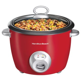 Hamilton Beach Red 20-cup Rice Cooker