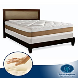 Spinal Response Pure 12.5-inch King-size Memory Foam Mattress