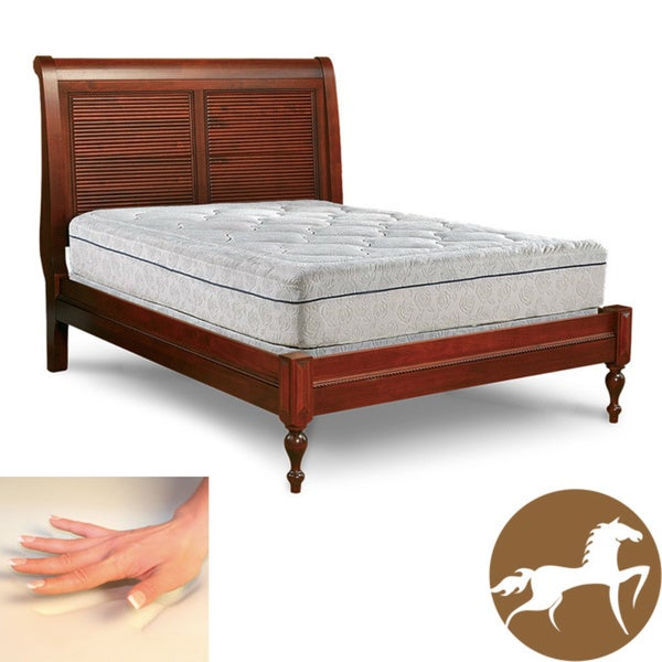 Spinal Response Delight 12-inch King-size Memory Foam Mattress