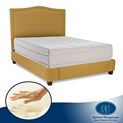 Spinal Response Comfort 11-inch Twin XL-size Memory Foam Mattress