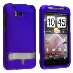BasAcc Blue Snap-on Rubber Coated Case for HTC ThunderBolt 4G