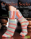 Learn to Crochet Socks for the Family (Paperback)