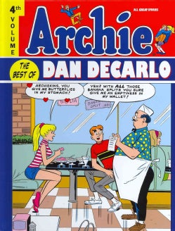 Archie: The Best of Dan Decarlo 4 (Hardcover)