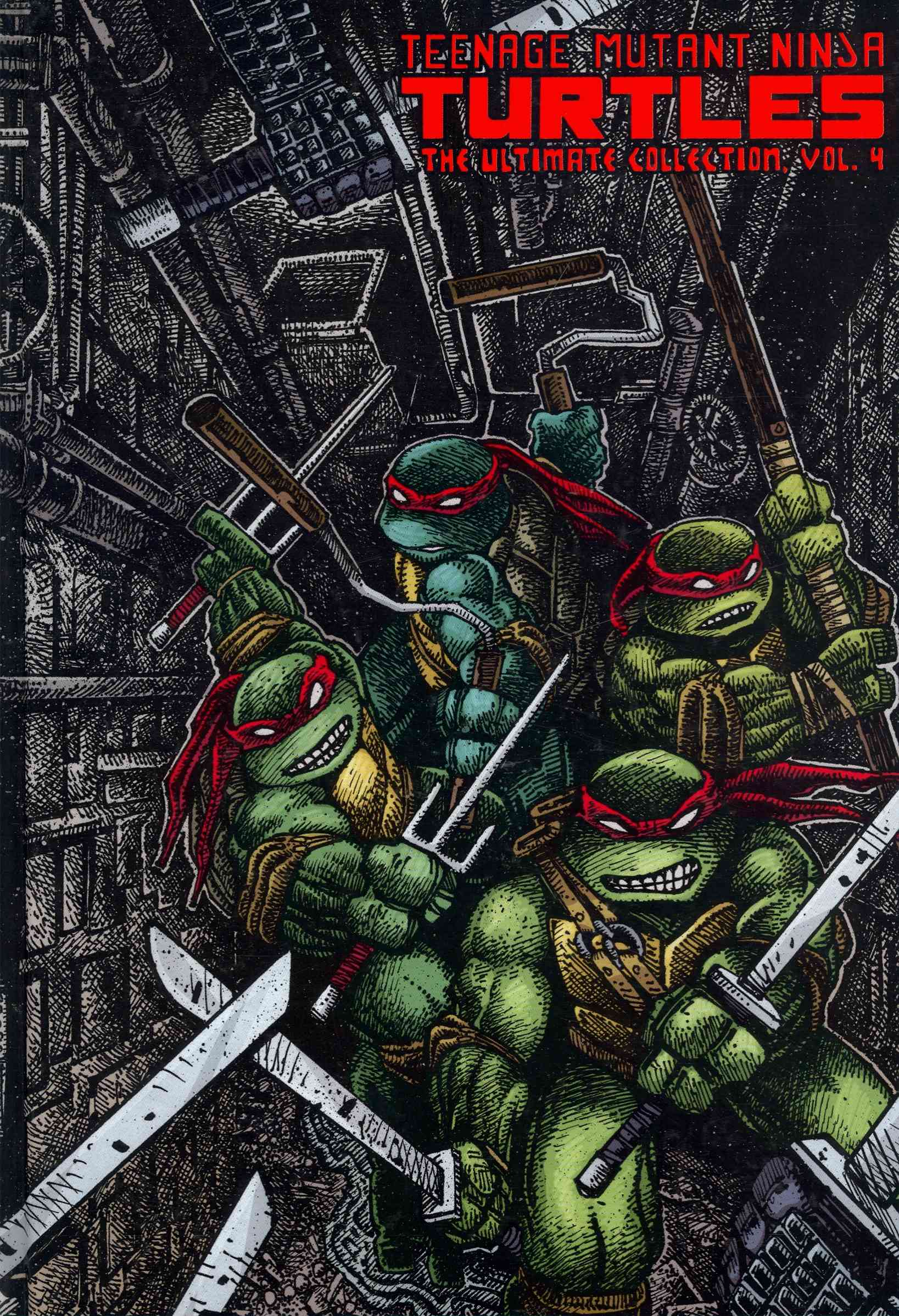 Teenage Mutant Ninja Turtles: the Ultimate Collection 4 (Hardcover)