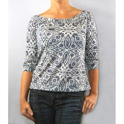 Institute Liberal Women's Antique 3/4-Length Knit Top