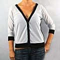 Institute Liberal Women's Grey Sunburst Cardigan
