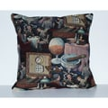 Tobacco Shop Decorative Pillow