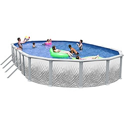 Hamilton 33-foot All-in-1 Above Ground Swimming Pool Kit