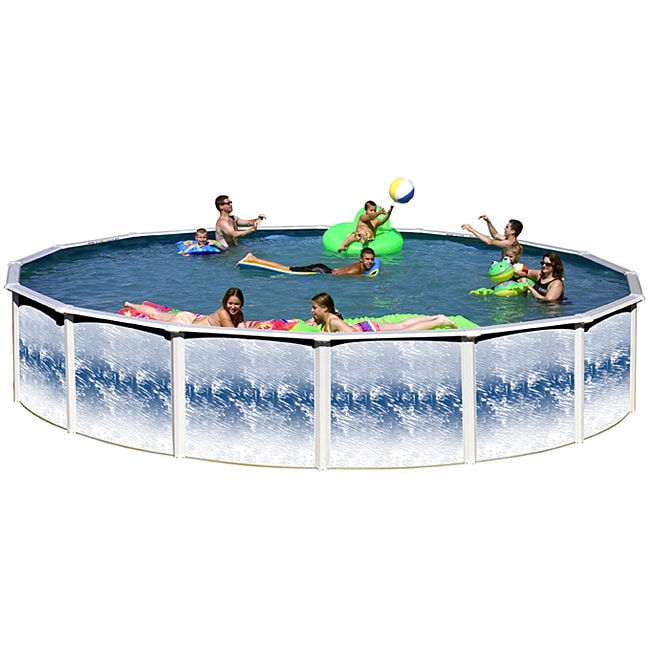 Yorkshire 15-foot All-in-1 Above Ground Swimming Pool Kit