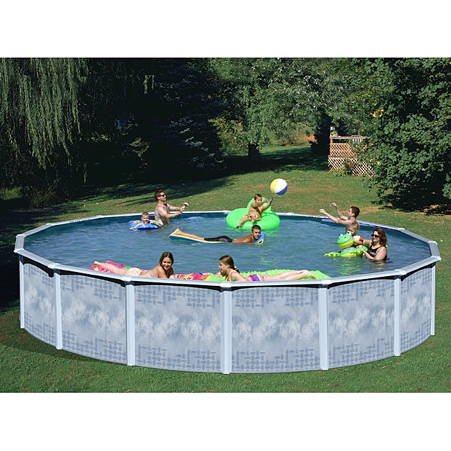 Quest 27-foot All-in-1 Above Ground Swimming Pool Kit