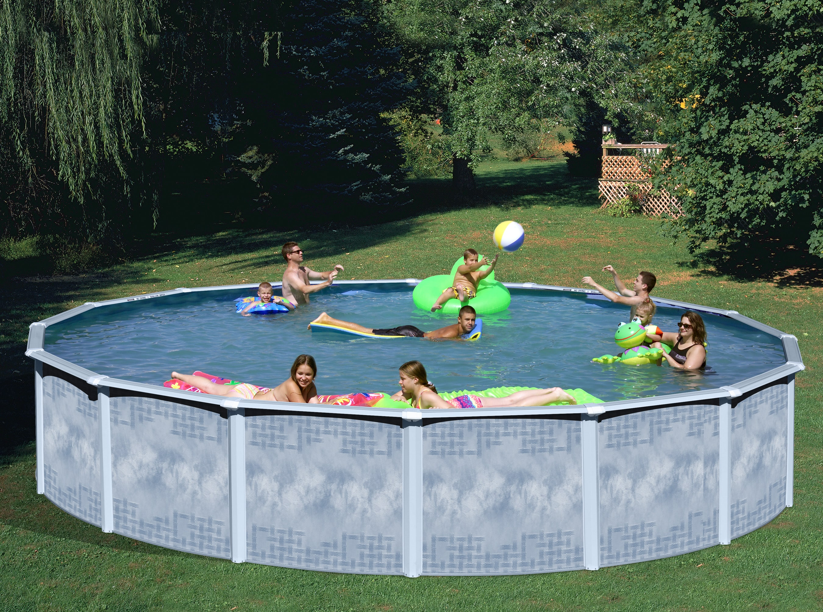 Quest 30-foot All-in-1 Above Ground Swimming Pool Kit