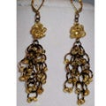 Chandelier Chain Maille Earrings