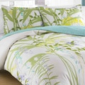 City Scene Mixed Floral 3-Piece Duvet Cover Set