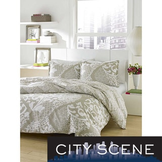 City Scene Medley 3-piece Duvet Cover Set