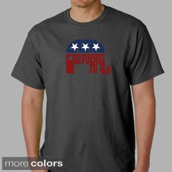 Los Angeles Pop Art Men's GOP T-Shirt
