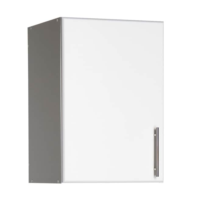 White 16 inch Elite Stackable Wall Cabinet