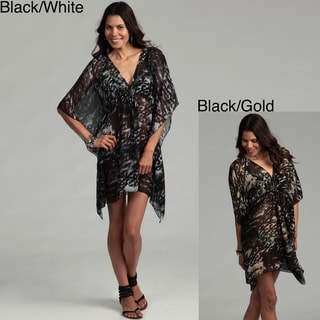 Water Water by Elan Sheer Dolman Sleeve Tunic Swim Cover