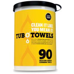 Tub O' Towels 90/Pkg