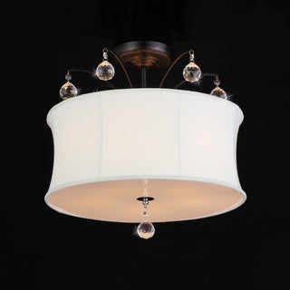 Crystal Fountain Pendant Lamp