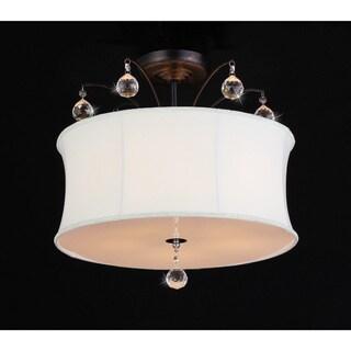 Crystal Fountain Pendant Lamp