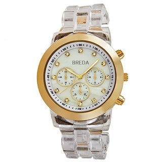 Breda Women's 'Brooke' Mother-of-Pearl Dial Quartz Watch