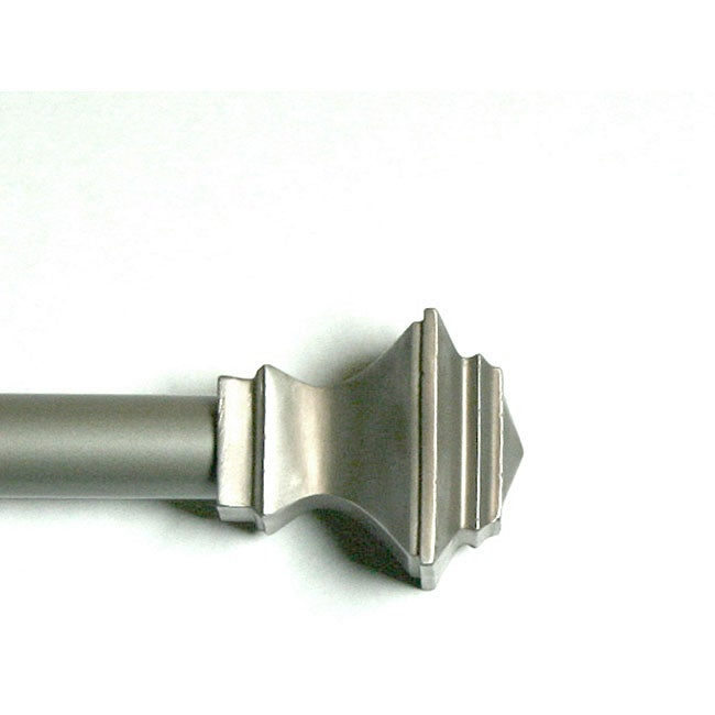 Pewter Quadrant Adjustable Rod and Finial