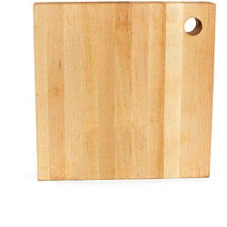 JK Adams 10-Inch Square Birch Wood Cutting Board
