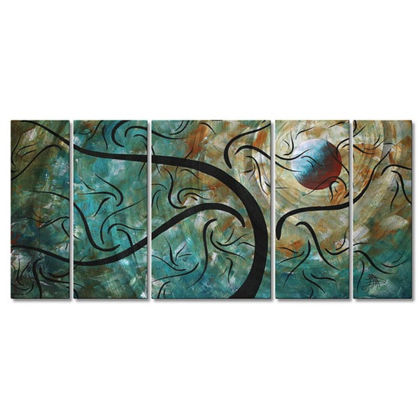 "Megan Duncanson ""Cool Night"" Metal Wall Decor"