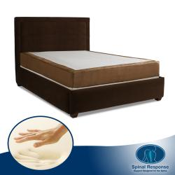 Spinal Response Desire 10-inch Queen-size Memory Foam Mattress