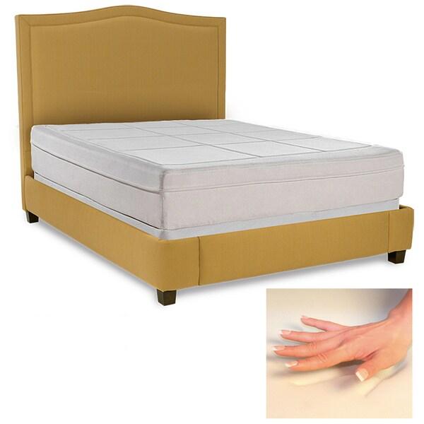 Spinal Response Comfort 11-inch Queen-size Memory Foam Mattress
