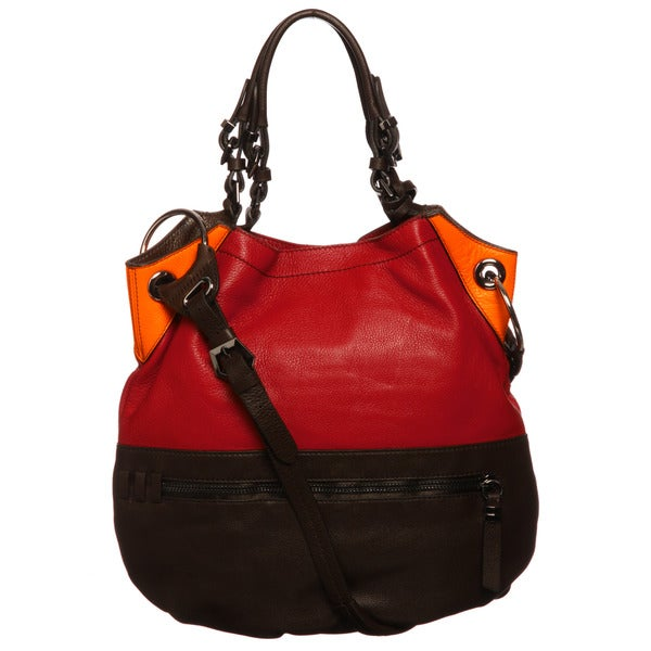 Oryany Gwen Metallic Shoulder Bag 9