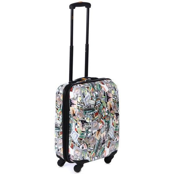 Lucas 'World Tour' 20-inch Expandable Suitcase