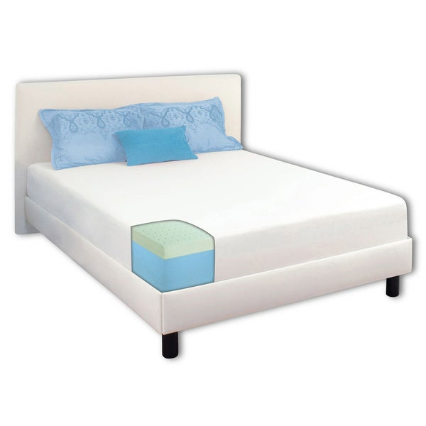 Dream Form? Green Tea 10-inch Twin-size Memory Foam Mattress