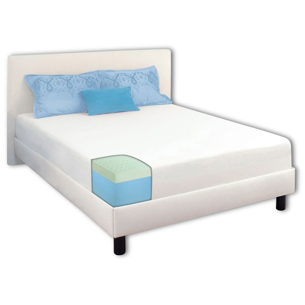 Dream Form Green Tea 8-inch Twin-size Memory Foam Mattress