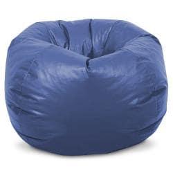 BeanSack Kids Royal Blue Vinyl Bean Bag