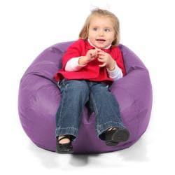 BeanSack Kids Purple Vinyl Bean Bag