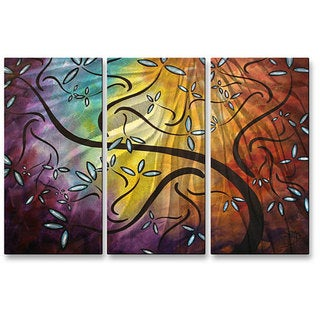 Megan Duncanson 'Sweet Blossoms' Metal Wall Art