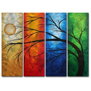 Megan Duncanson 'In Living Color' Metal Wall Art