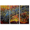Megan Duncanson 'Golden Dance' Metal Wall Art
