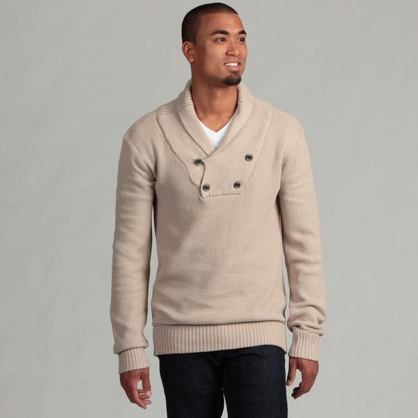 WT02 Men's Shawl Collar Sweater
